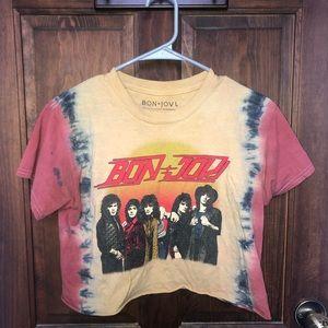Bon Jovi Crop Top T-shirt